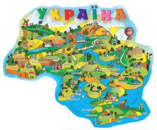 Карта украина своими руками 726
